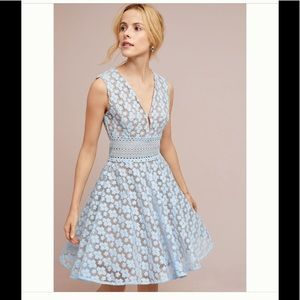 NWT Anthropologie Amsonia lace dress
